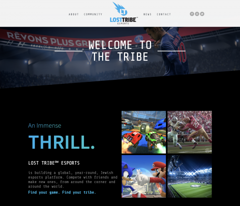 Lost Tribe Homepage