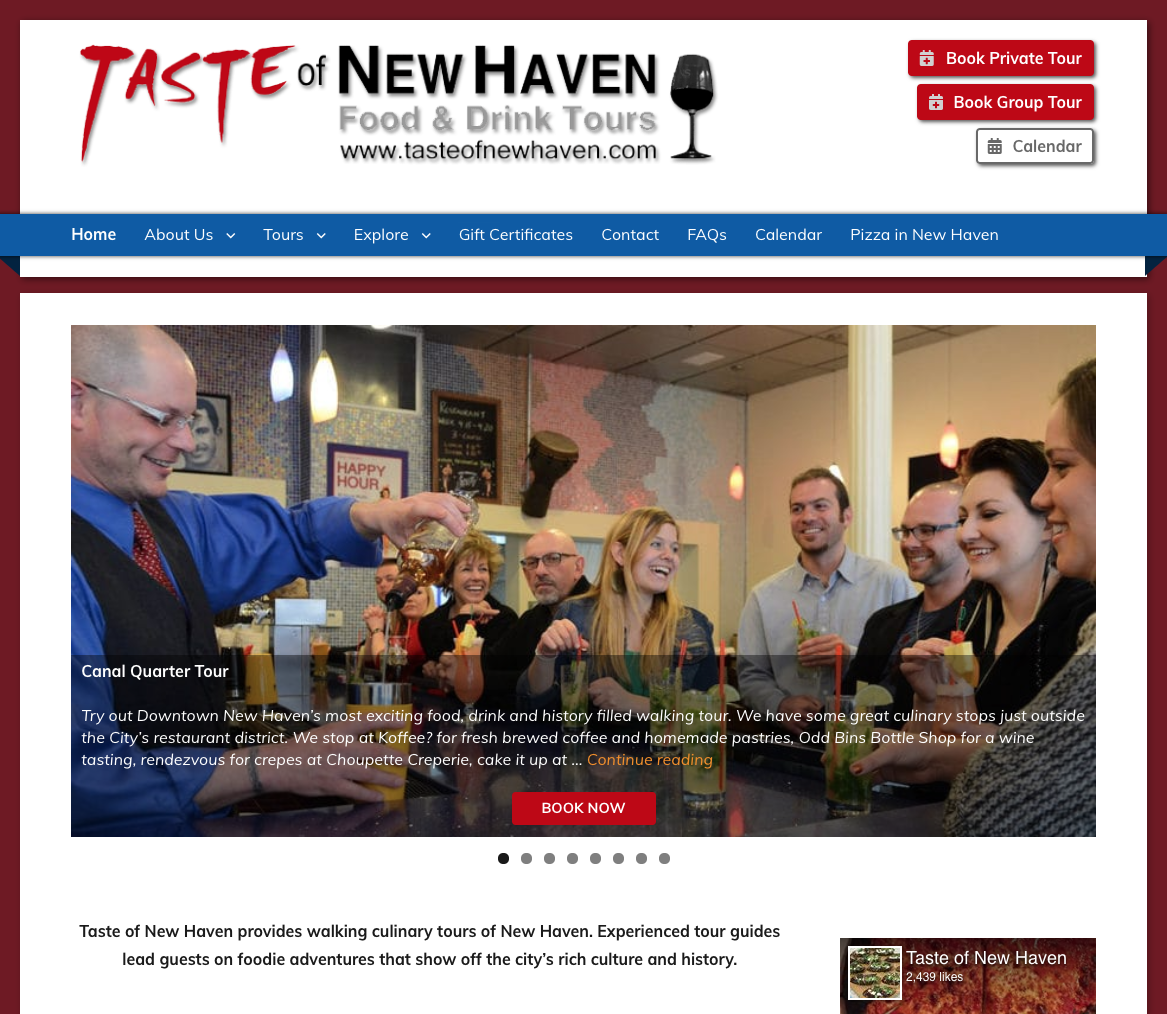 Taste of New Haven Home